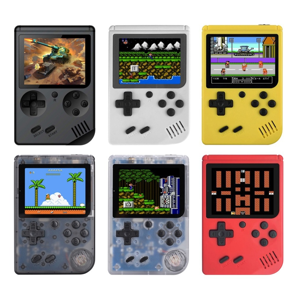 Pocketformaat gameconsole met 168 games