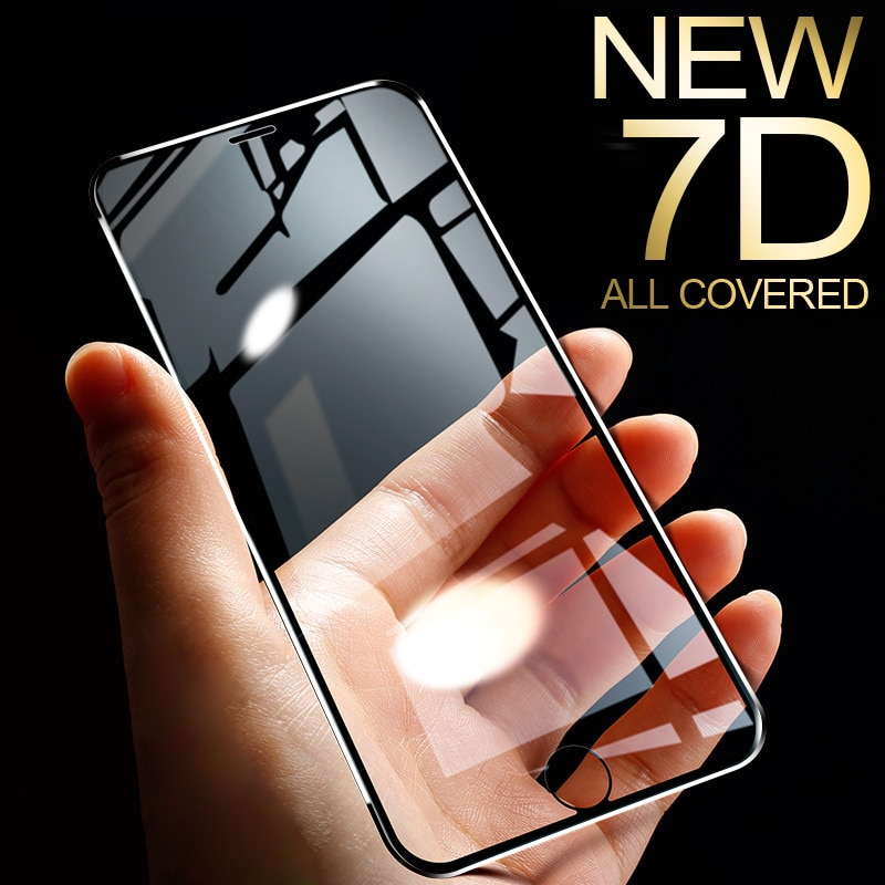 iPhone case tempered glass (alle modellen)